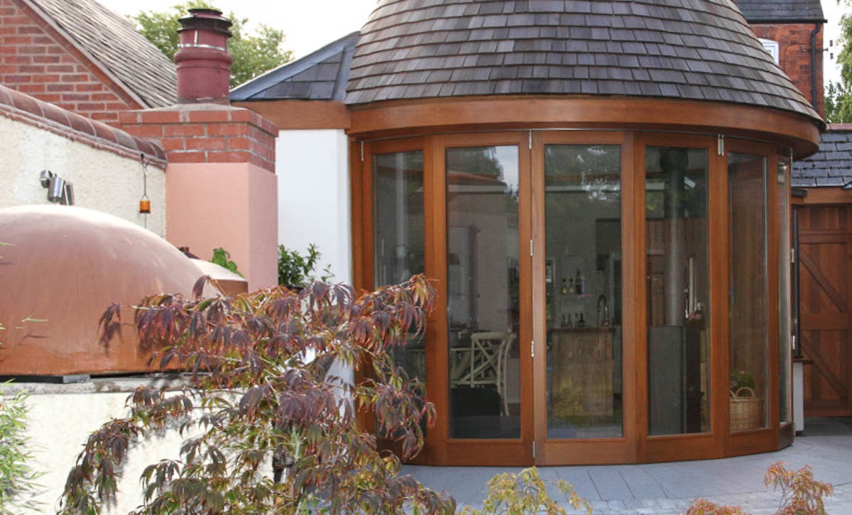 Curved Folding Sliding Doors